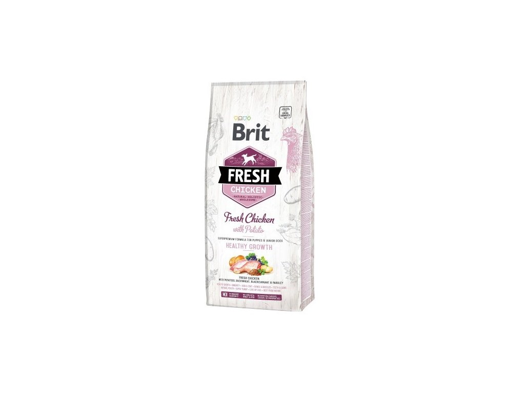 Brit Dog Fresh Chicken&Potato Puppy Healthy Growth 2,5 kg
