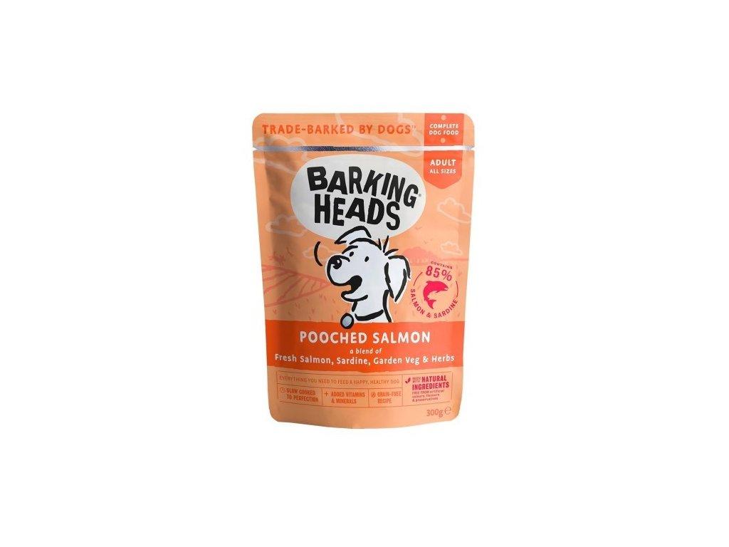Barking Heads Pooched Salmon kapsička 300 g