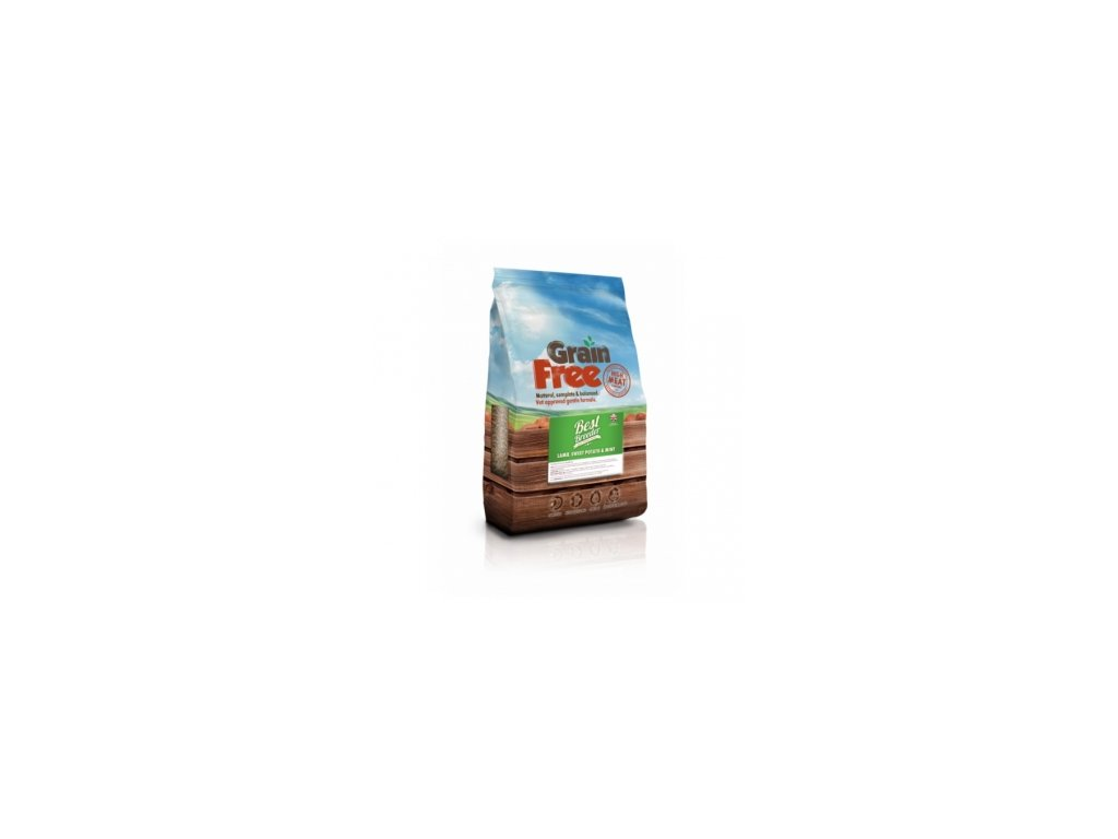best breeder grain free lamb sweet potato mint 2 kg