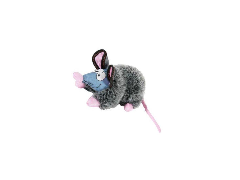hracka pes gilda rat plys seda 44cm zolux
