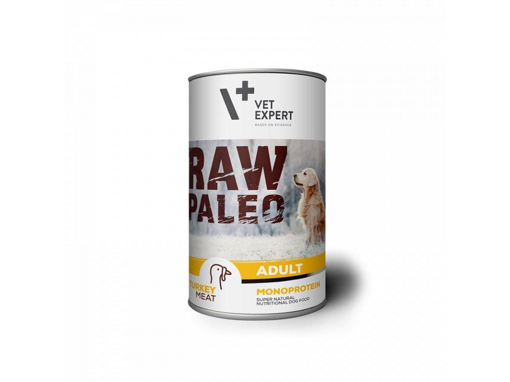 konzerva pro psy raw paleo adult turkey 400g 339 2