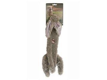 hracka pes zajic piskaci 38cm skinneeez