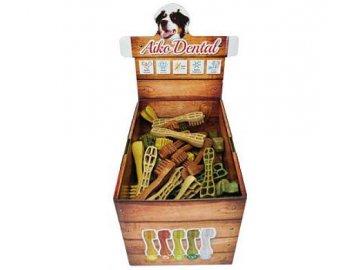 dental brush m 9 5cm 80ks box