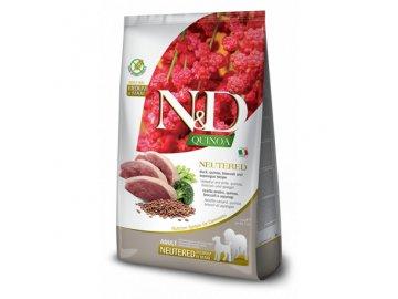 nd quinoa dog neutered duckbroccoliasp 12kg