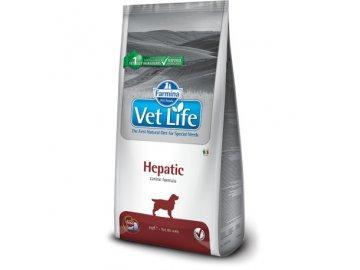 vet life natural dog hepatic 12kg