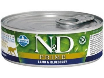 nd lamb blueberry adult cat 80g