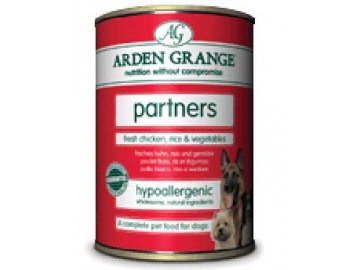 Arden Grange Canned Dog Chicken konzerva 395g