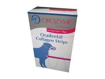 Orozyme enz. plátky žvýkací pro psy L (10ks)