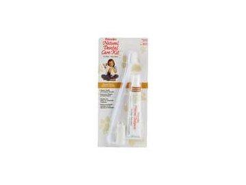 Petrodex přírodní dentální souprava (pasta+2kartáčky)
