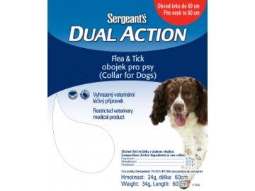 Sergeant's Dual Action antiparazitní obojek pro středně velké psy 60 cm