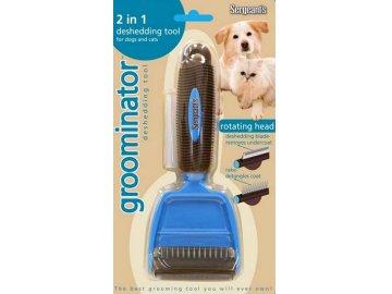 Groominator hřeben  2v1 pro psy a kočky