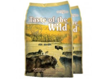 Taste of the Wild High Praire 2 x 12,2 kg