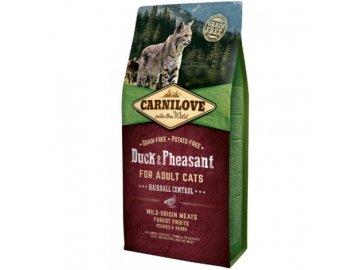 carnilove cat duck pheasant