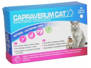 Capraverum Cat kittens lactating