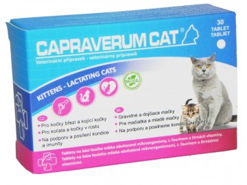 Capraverum Cat kittens lactating