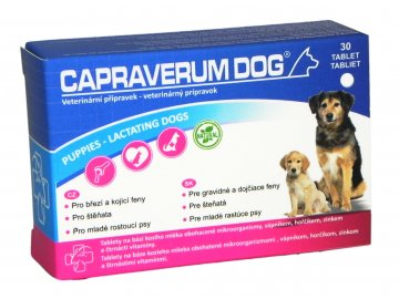 Capraverum Dog puppies lactating