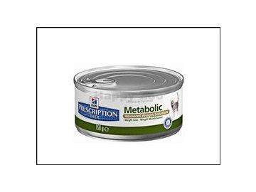 Hills Feline Metabolic konzerva 156g