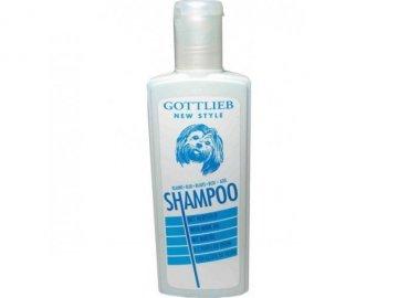 Šampon Gottlieb Blue vybělující s makadam.olejem 250ml