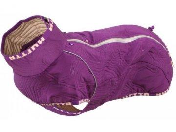 Obleček Hurtta Casual prošívaná bunda fialová
