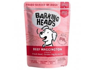 Barking Heads Beef Waggington kapsička 300 g