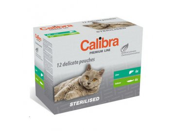 calibra cat kapsa premium steril multipack 12x100g