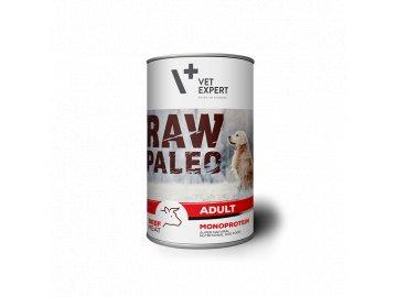konzerva pro psy raw paleo adult beef 400g 338 2