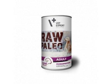 konzerva pro psy raw paleo adult lamb 400g 340 2