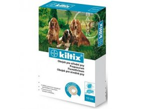 KILTIX antiparazitní obojek 53cm