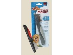 Trimovací nůž jemné zuby Trixie