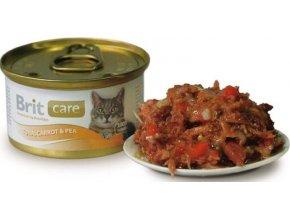 Brit Care Cat konzerva kuřecí prsa 80g