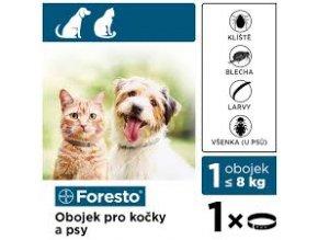 foresto 38 obojek pro kocky a male psy 1ks