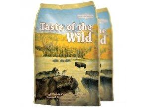 Taste of the Wild High Praire Duo Pack 2x13kg