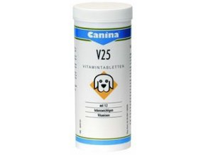 Canina V25 tbl. (Vitamin – Tabs) 200 g (cca 60 tbl.)