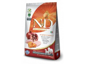 N&D GF Pumpkin DOG Adult M/L Chicken & Pomegranate 2,5kg