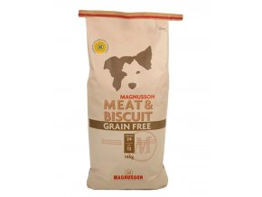 Magnusson Meat & Biscuit GRAIN FREE 2 x 14kg