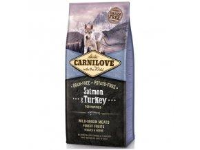 carnilove salmon turkey for puppies