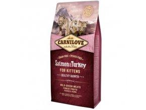 carnilove cat salmon turkey for kittens