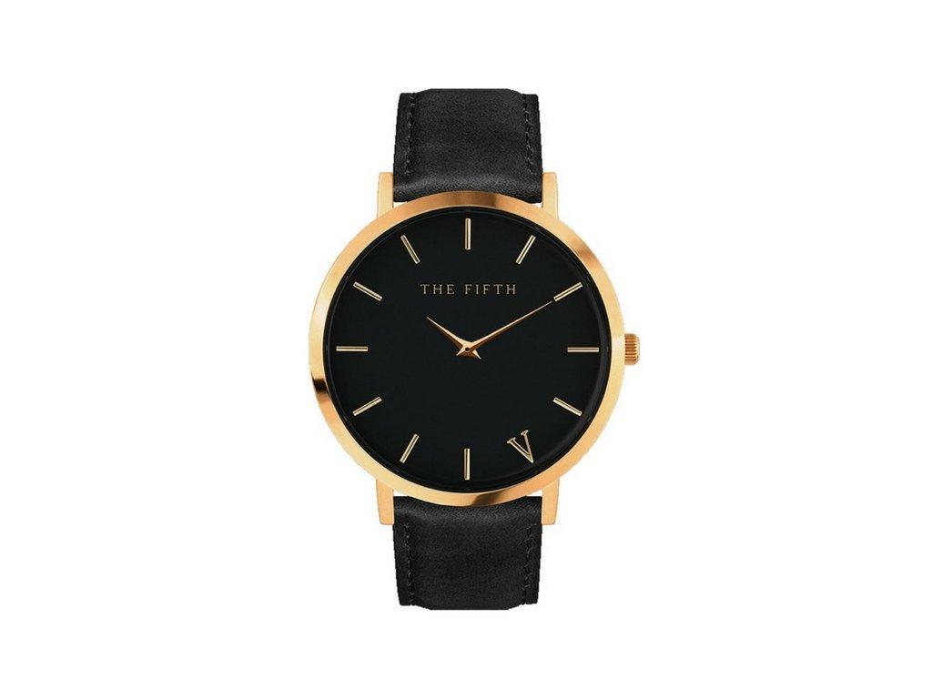 Dámské hodinky THE FIFTH - Black+gold - vsevakci.cz - Poštovné ... 5bcc917d2d