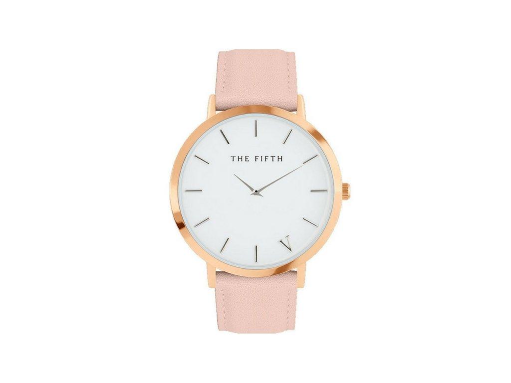 Dámské hodinky THE FIFTH - Pink - vsevakci.cz - Poštovné zdarma na ... 3dda22079a