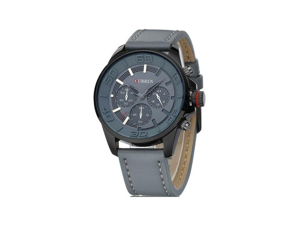 Pánské hodinky CURREN Military - Grey - vsevakci.cz - Poštovné ... 265e37464f6