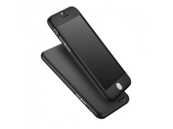 Kryt 360° FULL BODY - iPhone 6/6s - Black