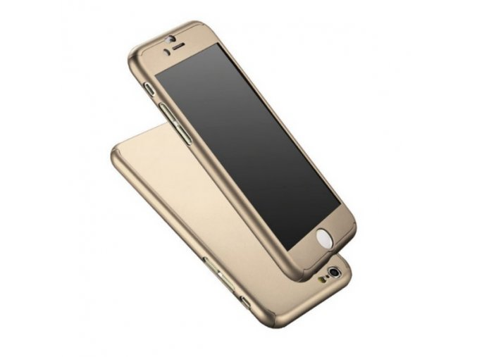 Kryt 360° FULL BODY - iPhone 6Plus/6S Plus - Gold