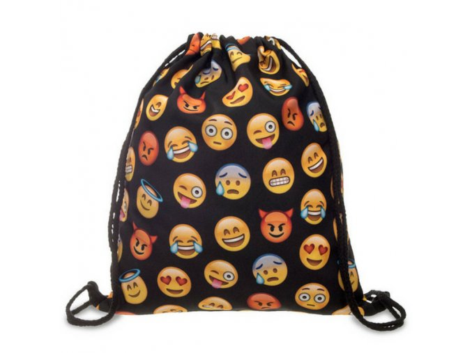 Unisex vak - Emoticons - black
