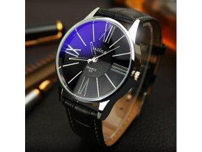 Elegantní pánské hodinky YAZOLE tmavé