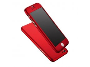 Kryt na iPhone 7 - 360° FULL BODY - Red
