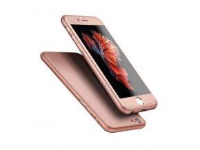 Kryt 360° FULL BODY - iPhone 7 - Pink