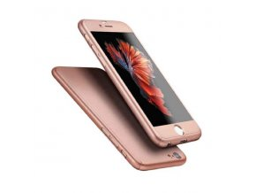 Kryt na iPhone 7 - 360° FULL BODY - Pink