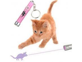 Myška - Laserové ukazovátko pro kočky