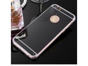 Luxusní kryt MIRROR iPhone 6/6s - Black