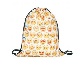 Unisex vak - Emoticons - white